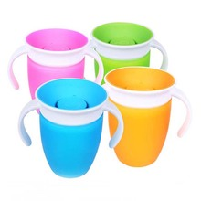 360 Degree Drinking <strong>Cups</strong> Baby Kids Cute Trainer <strong>Cup</strong> Drinking Bottle Practical baby <strong>cups</strong> automatically Seals