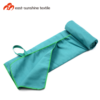 High water absorbent microfiber gym football sports team towel