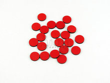 Set of 20 Red Wooden Counters,Montessori Math toys,Montessori wooden educational toys