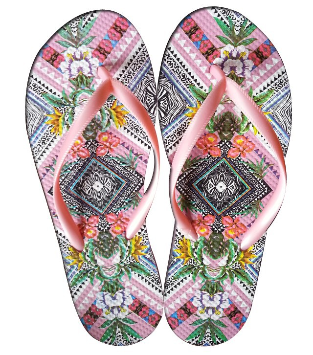 Pink color strap wholesale buckles for slippers