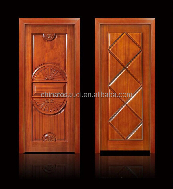 single wooden door design from factory directly