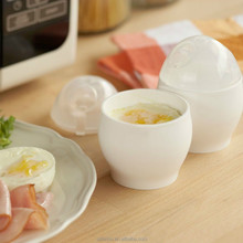 New 2pcs Microwave Oven Soft Boiled Egg Cup For Various Ways of Cooking Quick Egg