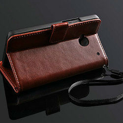 official design PU leather case for THC one M7