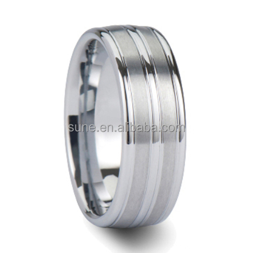 engineers iron ring sale classic tungsten carbide ring 8mm comfort-fit wedding band