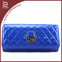 Cheap latest style suitable Blue PU unique purses and bags