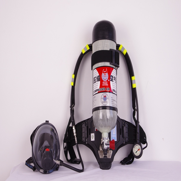 Self Contained Air Breathing Apparatus / Full Set of Scba/ Positive Pressure Air Respirator