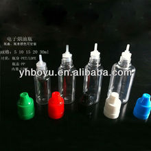 Wholesale 20ml PE tamperproof cap eye dropper plastic bottle& container, plastic sterilized eye drop bottles dropper bottle 20ml