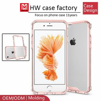 latest 5g mobile phone 2016 new model clear transparent phone case, TPU phone case for iPhone 7 7plus
