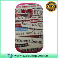 Fashion For samsung galaxy s3 mini Rubber flag mobile phone covers