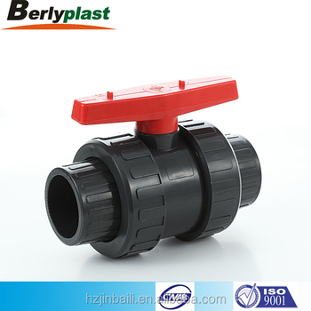 2 inch male female pvc double true union ball valve