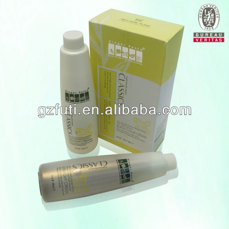 Professional Salon Use Hair Straightening Perm Lotion