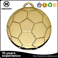 wholesale custom 3d stamping gold finish part of black nickel plating football us medal reward iron brass zinc alloy metal medal
