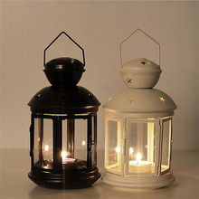 New Outdoor hot sale christmas mini Candle Holder Lantern