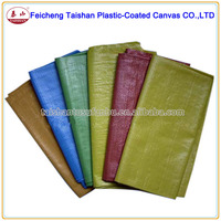 Packed Bales PE Woven Fabric PE Waterproof Tarpaulin Sliver
