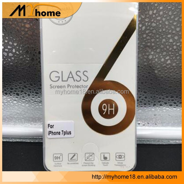 Wholesale For iphone 7 Tempered Glass Soft Edge Screen Protector Film 3D Full Cover tempered glass For samsung s6 s7 edge