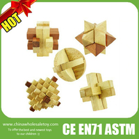 2015 wooden puzzle lock,wooden interlock puzzle toys,wooden adult toys