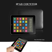 promotion gift desktop electronic touch screen ipad calculator