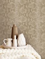 Detai vinyl wallpaper waterproof for bathrooms
