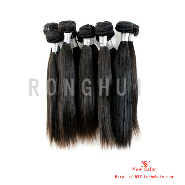 Steam processed and fulll hair cuticle virgin remy Indian raw hair for cheap