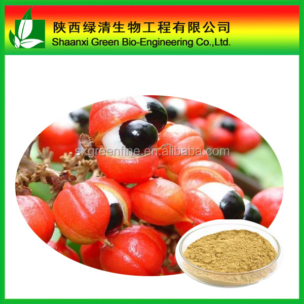 Guarana seed extract with 10% Caffeine Powder Guarana extract for weight loss