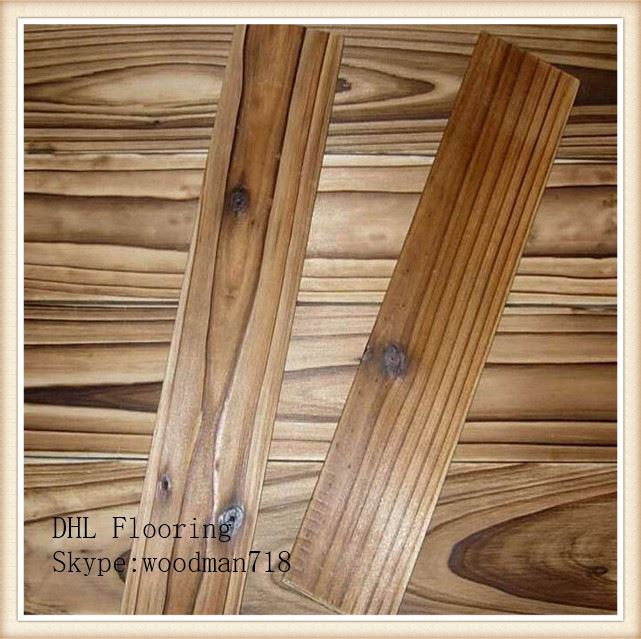 3.5mm top layer UV Laquer coat stained white oak Plank engineered wood timber flooring