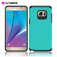 2016 New Model Phone Case Slim Armor Shock Proof Hybrid Dual Layer Defender Case Cover for Samsung Galaxy Note 7 mobile phone