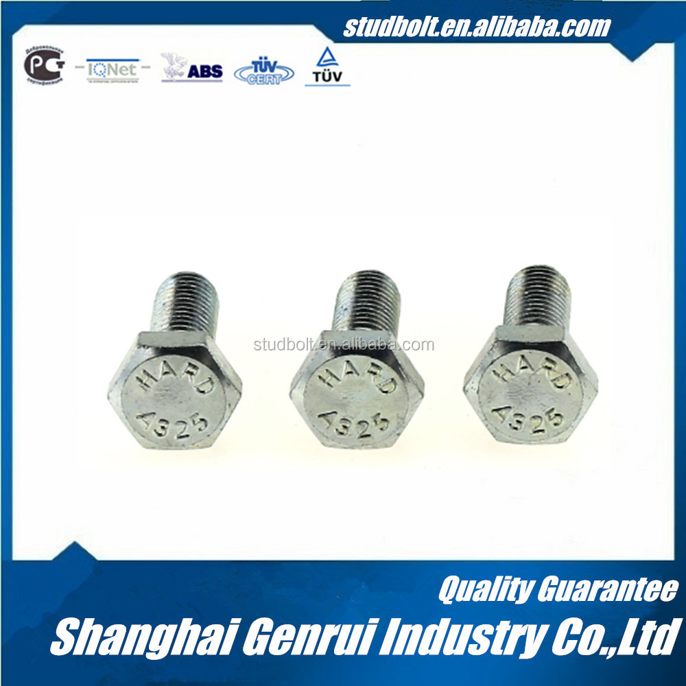High Quality Iso 13918 Astm A325M Bolts Made In China