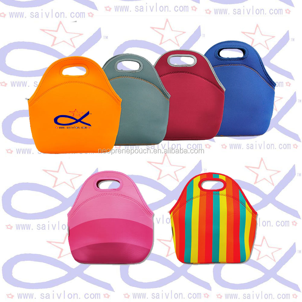 lancheira thermo thermal insulated neoprene lunch bag for women