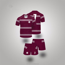 Custom Made Rugby Team Uniforms for Rugby League or Rugby Union Enzyme Washed