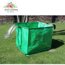Environmental Cheap Promotional Green Garden Bags Lawn And Leaf Bag