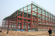 steel construction factory building design and fabricated