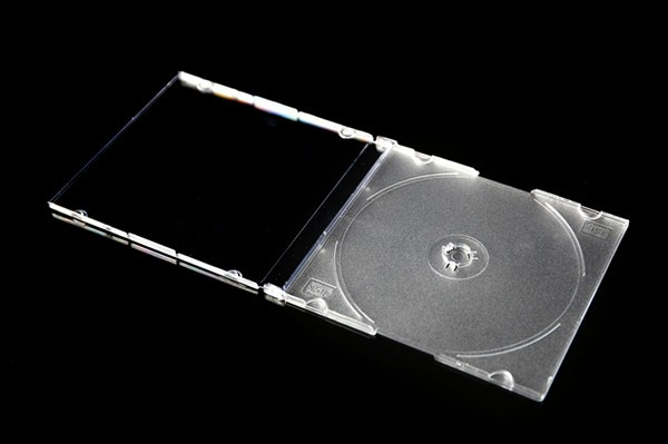 slim 5.2mm cd case with tray