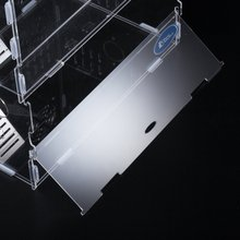 customized cheap transparent two riser cages for rabbit