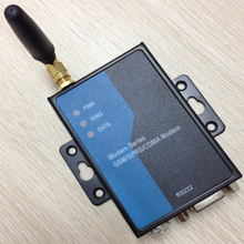 M2M modem WCDMA/HSDPA/HSUPA 3G Modems industrial grade RS232 3G MODEM for SMS, CSD and data