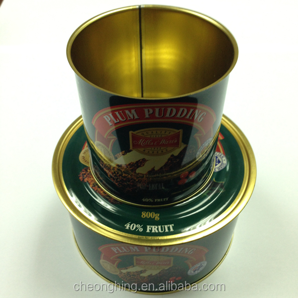 open top easy open tin cans