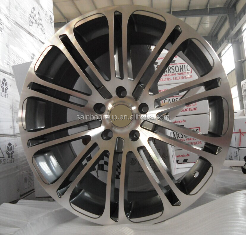 Fashion aluminum car rims