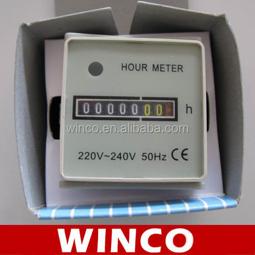 Mechanical Industrial Running Hours Engine Hour Meter