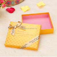 Best quality and recycled Materials fashionable Customize paper gift Box
