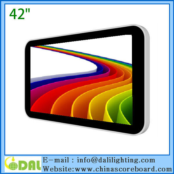 7 to 82 inch gas station advertising monitor