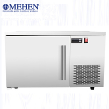 Factory price counter top food shock freezing stainless steel small chicken blast freezer