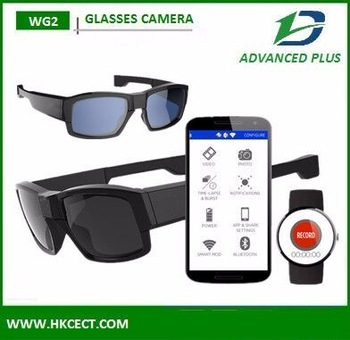 HD 720P Auto witch small glasses wearable camera hidden camera