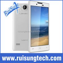 "Original Leagoo Lead 4 Mobile Cell Phones MTK6572 Dual core Android Smartphone 4"" 720p HD 512B RAM 4GB ROM 3.0MP"