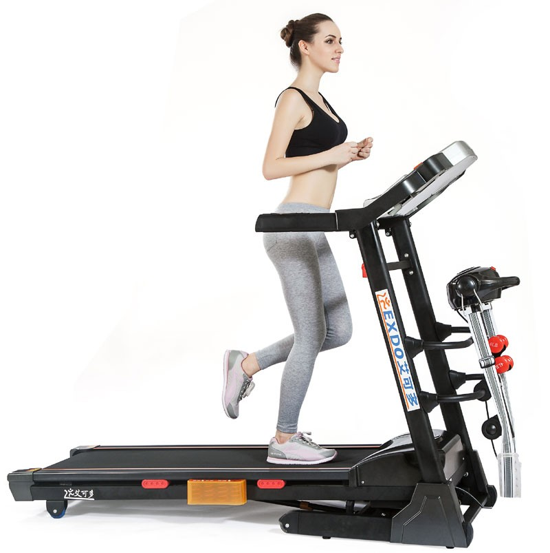 2017 New LCD screen home used treadmill, ab fitness