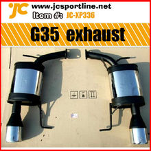 stainless steel car exhuast for infiniti G35 10-11