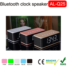 Innovative gadget 2017 Wireless Music Box bluetooth speaker+FM Radio+clock+alarm+speaker with Digital Display