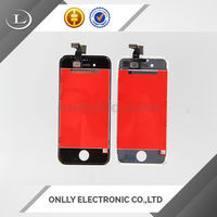 For iphone 4s lcd sreen glass,touch screen for iphone 4 s with full oem glass lcd