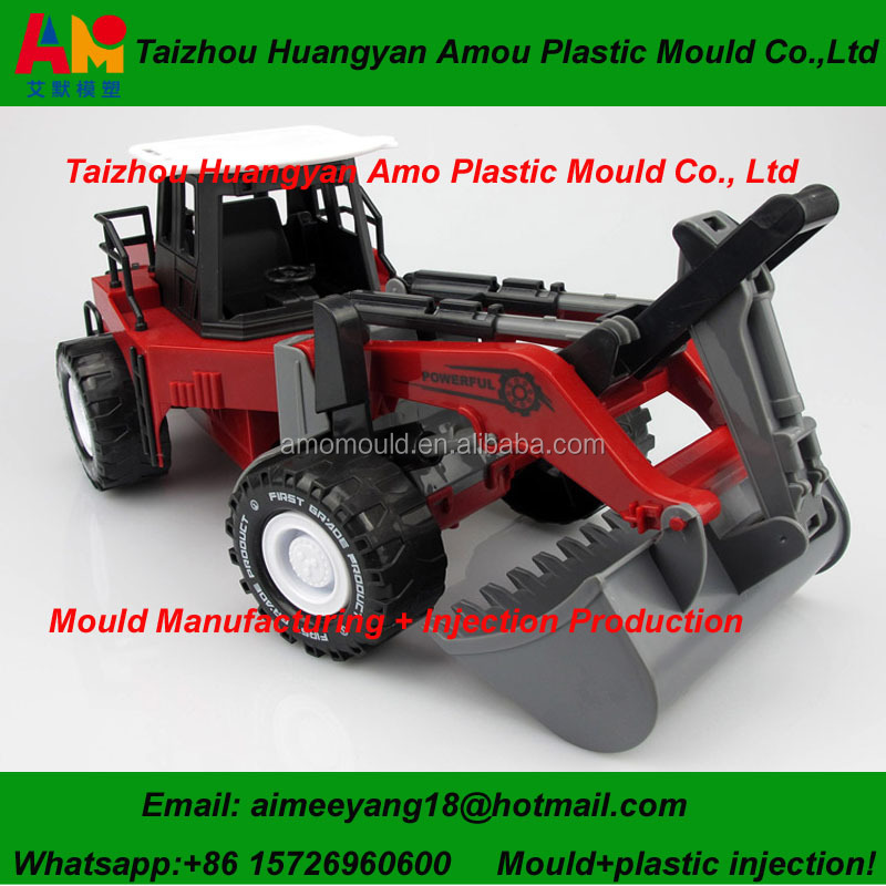 high quality customized toy car plastic injection molds made in China