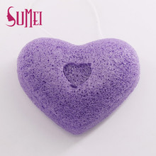Sumei wholesale women clean konjac face sponge