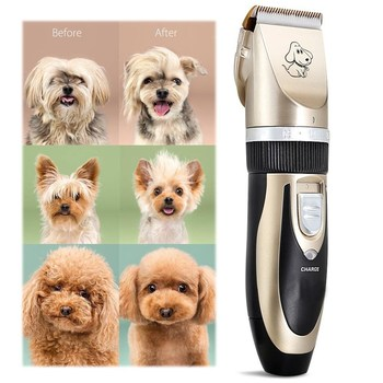 2018 Hot Wholesale Cheap Animal Hair Trimmer Shaver Razor machine set kit dog pet grooming clippers tool