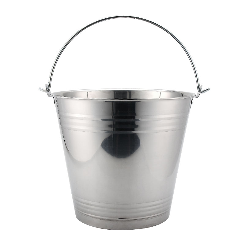 8L/10L/13L/16L/20L stainless steel bucket for garden